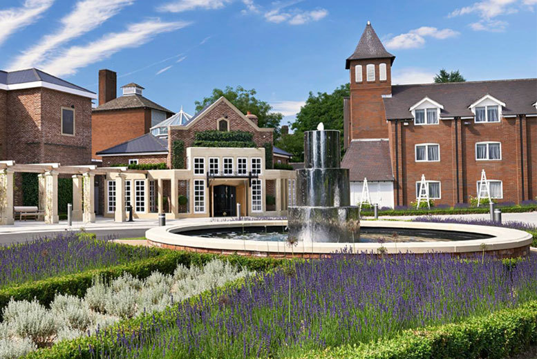Beauty: Belfry Spa Day, 2 Treatments, 'Fire & Ice' Experience & Afternoon Tea