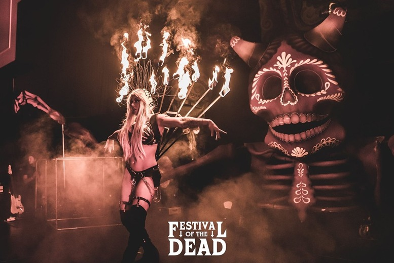 Entertainment: Festival Of The Dead Ticket for 1 or 2 @ 10 Locations!