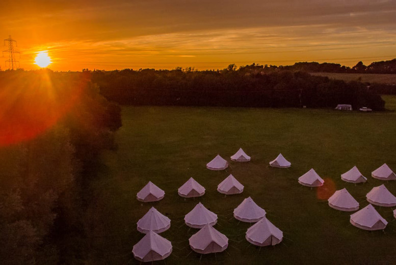 Spas & Country House: 3-4nt Glamping for up to 4 - Tent, Yurt & Grain Silo Options!