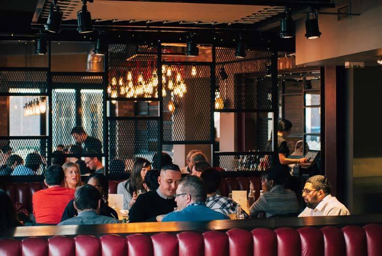 Restaurants & Bars: 2-Course Steakhouse Dining & Bottle of Wine For 2