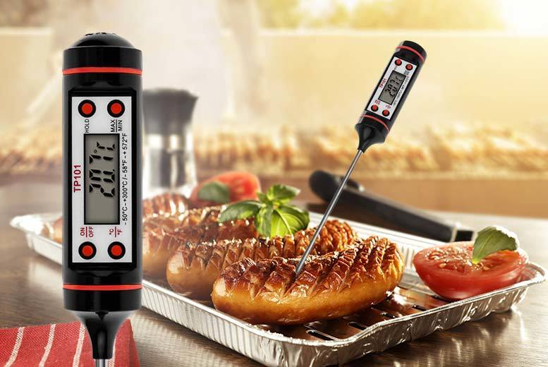 £5 instead of £24.99 (from DUK) for a digital food thermometer - save 80%