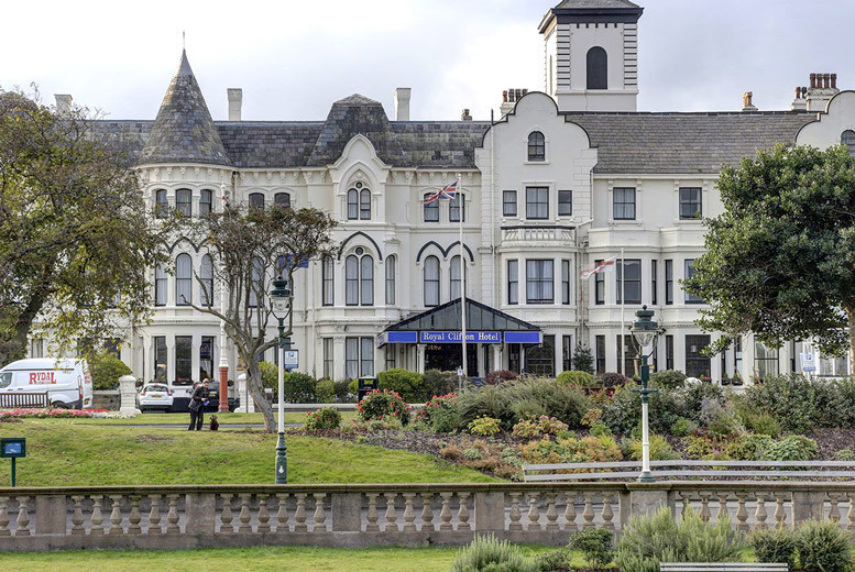 UK Seaside: 1-2nt Royal Clifton Hotel & Spa Stay with 2-Course Dining for 2