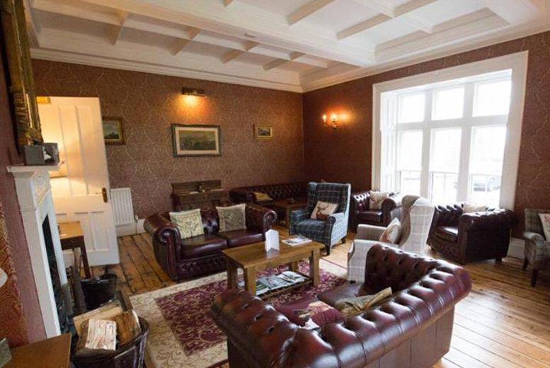 UK City Breaks: Otterburn Castle Hotel Escape with Breakfast & Prosecco for 2