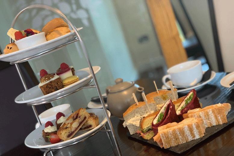 Restaurants & Bars: Traditional Afternoon Tea for 2 @ The Lemon Tree, Wrexham
