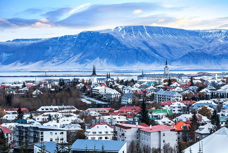 European City Breaks: 2-3nt Iceland Getaway, Flights & Northern Lights Tour