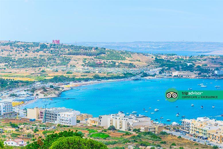 Beach Holidays: 4-7nt 4* All-Inclusive Malta Break, Flights & Sea View Room