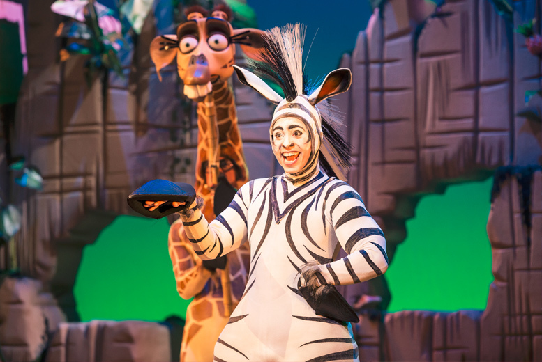 Entertainment: Madagascar the Musical @ Darlington Hippodrome
