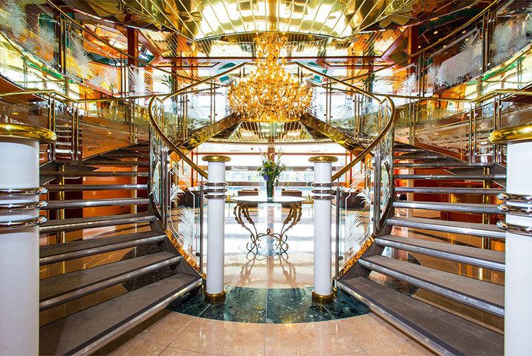 Restaurants & Bars: Luxury Afternoon Tea & Cocktails for 2 @ 4* Sunborn Yacht