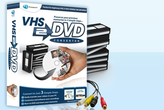 £25 instead of £51.05 (from Avanquest) for a VHS to DVD converter – keep hold of those precious memories and save 51%
