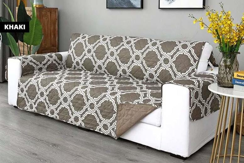 Patterned Washable Sofa Protector  3 Sizes & 4 Colours!