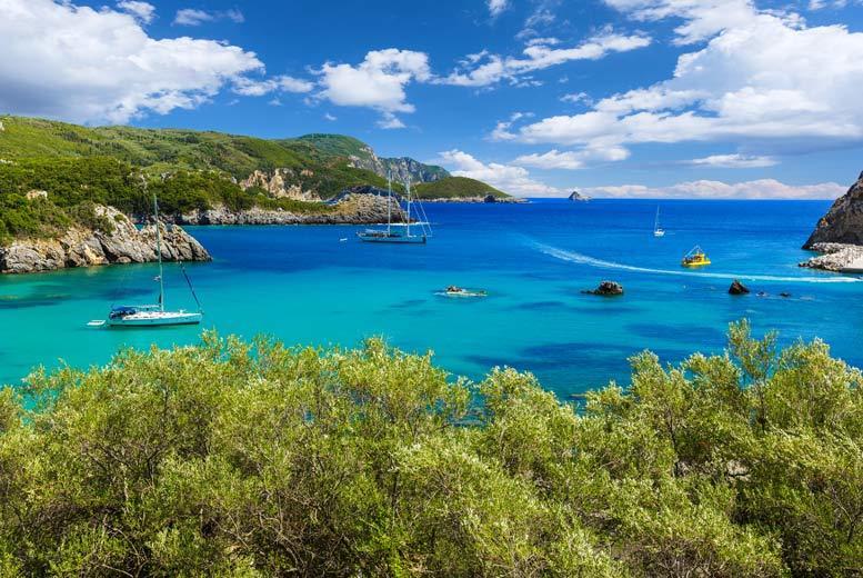 Beach Holidays: 4* All-Inclusive Corfu Beach Escape & Flights - Multiple Airports!