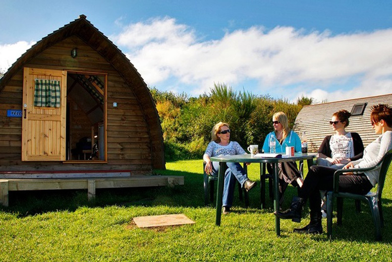Spas & Country House: 2-3nt Coastal Northumberland Wigwam Glamping for 2 or 4