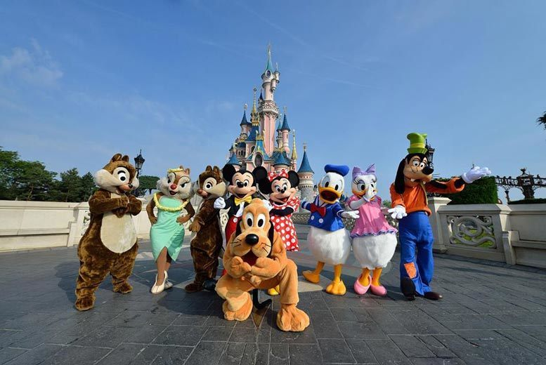 European City Breaks: Disneyland Paris Stay & Flights or Eurostar - Add Park Tickets!