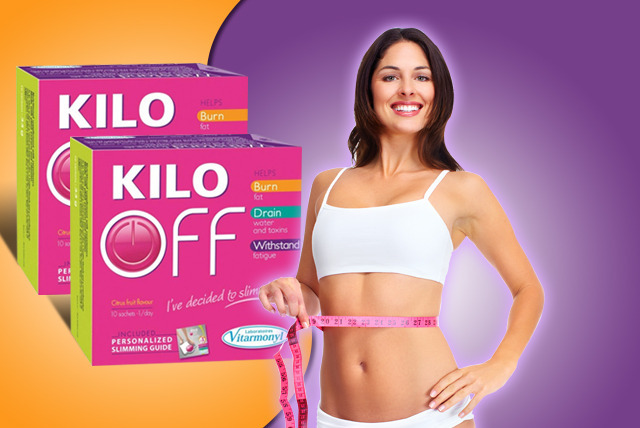 £11.99 instead of £23.98 (from Amirose Cosmetics) for 20 sachets of 'Kilo Off' dietary supplement - save 50%