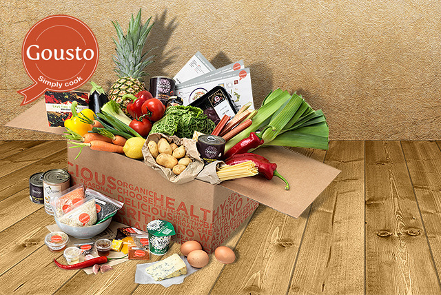 From £19.50 (from Gousto) for a 1-week Gousto subscription inc. 3 chef-designed meals for 2 people, or from £31 for up to 5 people - save up to 50%