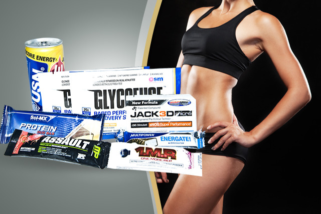 £4.45 instead of £10.95 (from MusclePack) for a monthly supplement sample box inc. 6-8 different supplements - save 59%