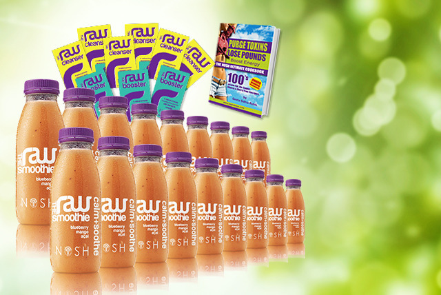 £69 (from Nosh Detox) for a 3-day juice detox plan + delivery is included!