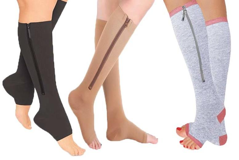 £6.98 instead of £19.99 (from Boni Caro) for a pair of travel and flight circulation socks, £11.98 for a pack of four