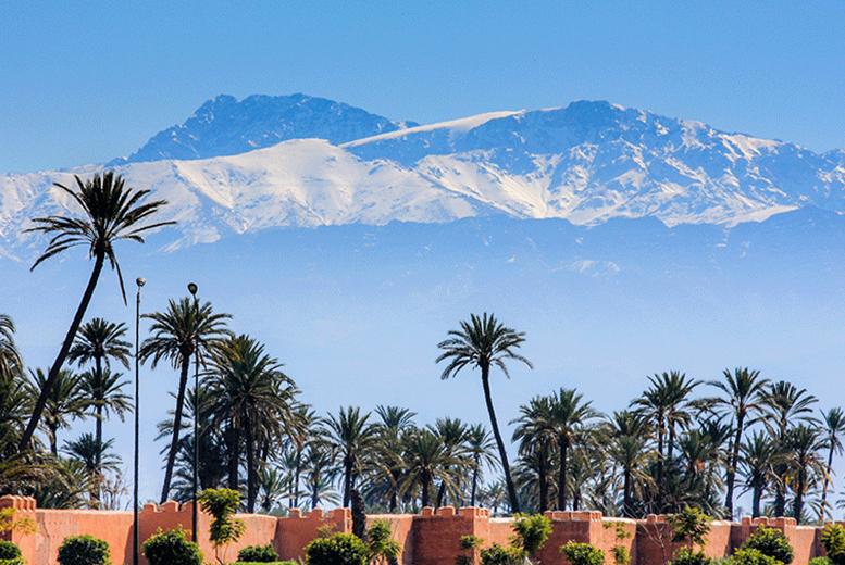 European City Breaks: Marrakech Getaway, Breakfast & Flights - Gueliz District!