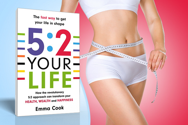£5.80 for a paperback copy of '5:2 Your Life: The fast way to get your life in shape'