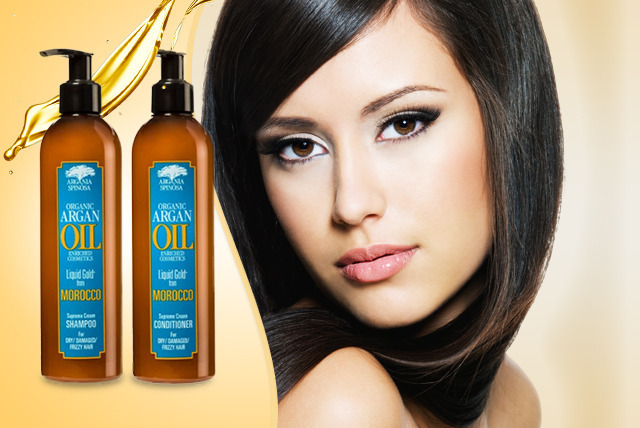 £7.99 instead of £25.98 for 300ml Argan Oil shampoo and 300ml conditioner from Wowcher Direct - save 69% + DELIVERY INCLUDED!