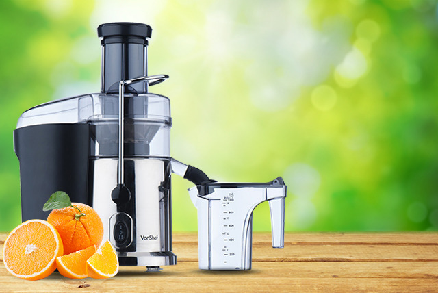 £29.99 instead of £89.99 (from Juggernet) for a Vonshef professional power juicer - save 67%