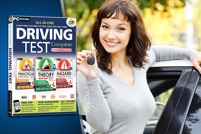 £5 instead of £10.20 (from Avanquest) for a driving test DVD, £12 for premium version – save up to 51%