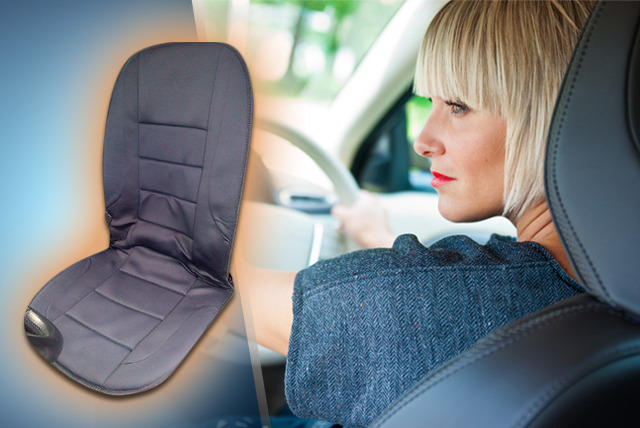 £9.99 instead of £29.99 (from Home Shopping Solutions) for a heated car seat, £17.99 for 2 - save up to 67%