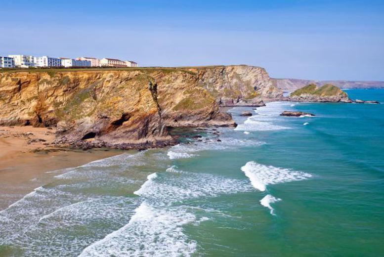 £89 (at The Windward Hotel, Newquay) for a 2nt break for 2 people inc. welcome drink & breakfast, £129 for 3nts - save up to 55%