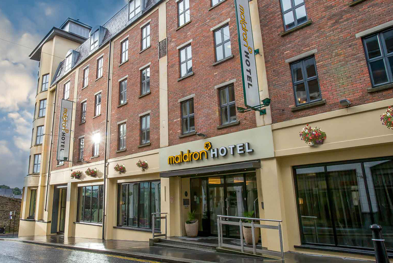 Ireland: 4* Maldron Hotel Derry Stay, Dinner, Breakfast & Late Checkout for 2
