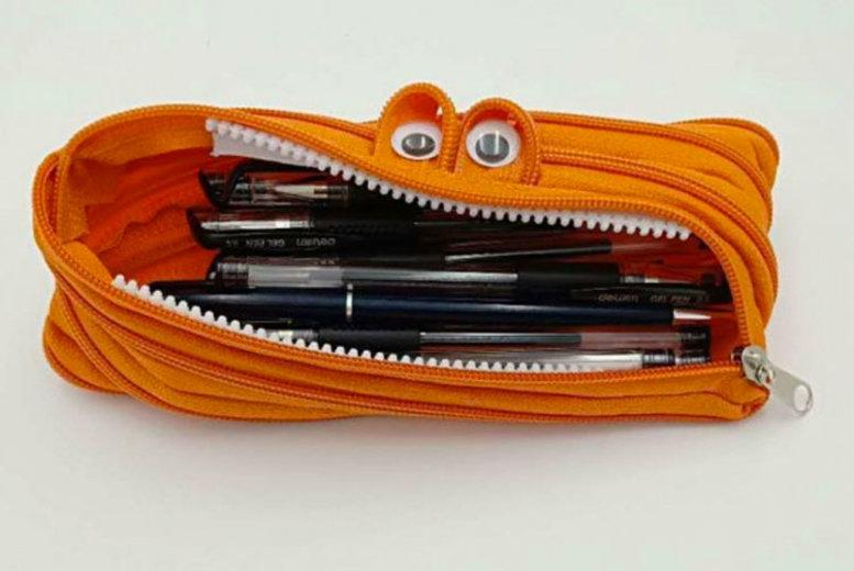 Cartoon Character Zipped Pencil Case 6 Colours