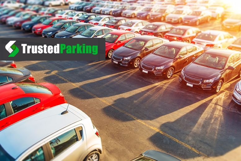 £1 for up to 32% off airport parking at over 30 UK locations from Trusted Travel!