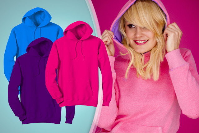 £7.99 for a unisex pullover hoodie in a choice of 7 colours from Wowcher Direct!