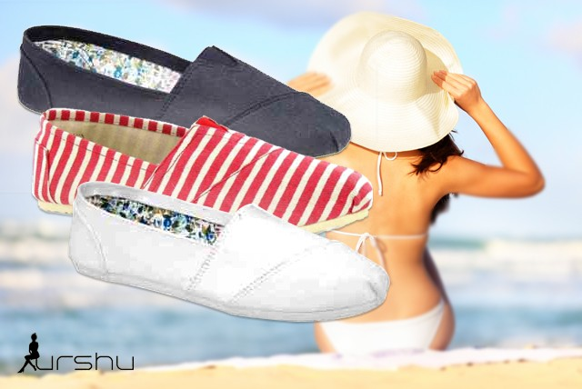 £8 instead of £30 (from URSHU) for a pair of trendy espadrilles in a choice of design - look stylish this summer and save 73%