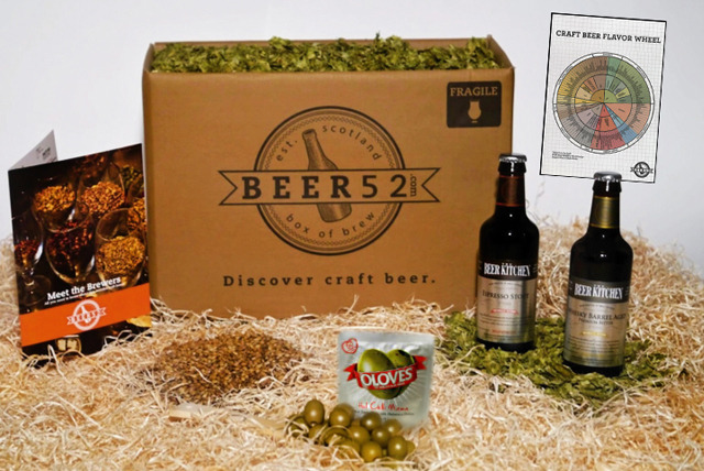 £4.99 instead of £32.42 for a Craft Beer Taster Box from Beer 52 - save 85%