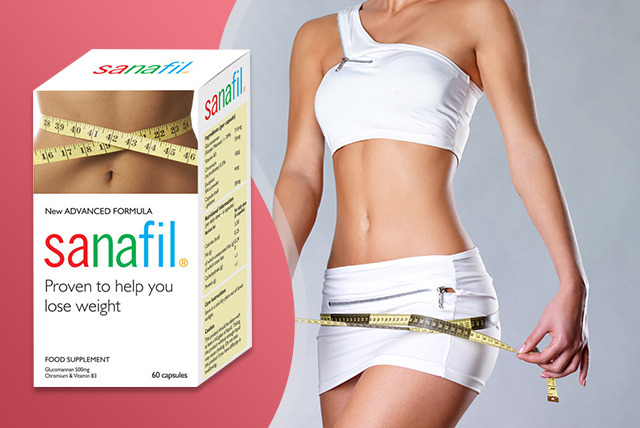 £13 instead of £34 (from Just You) for 60 Sanafil weight management capsules, or £23 for 120 capsules - fight the flab and save up to 62%