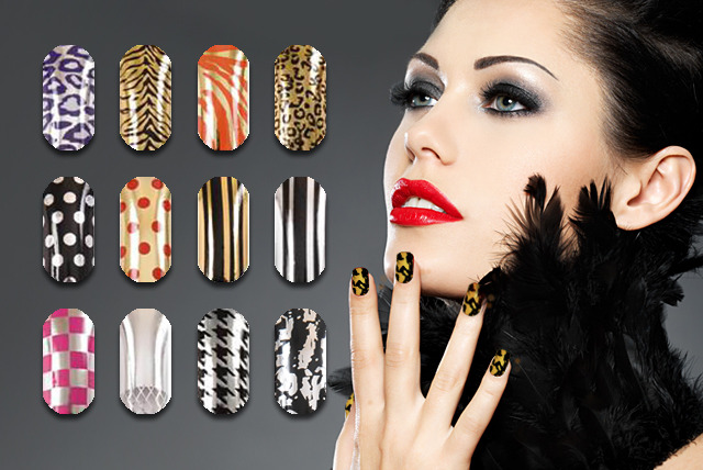£9 instead of £36 (from Millennium Nails) for 6 sets of nail art foil wraps, or £16 for 12 sets - save up to 75%