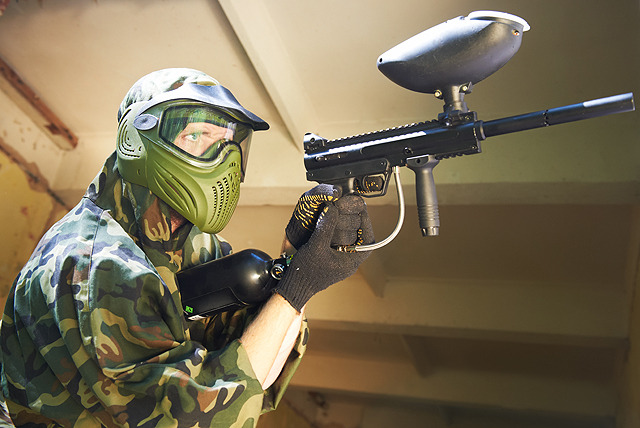 £3 instead of £10 for a 1-hour indoor paintballing experience inc. 200 balls with Bunker 57 at The Village Mansfield - save 70%