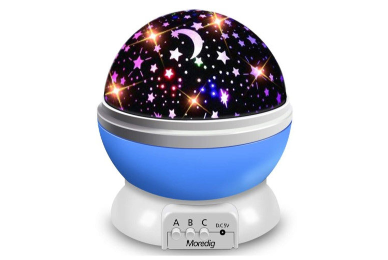 Moon & Star Galaxy Projector Light  3 Colours!
