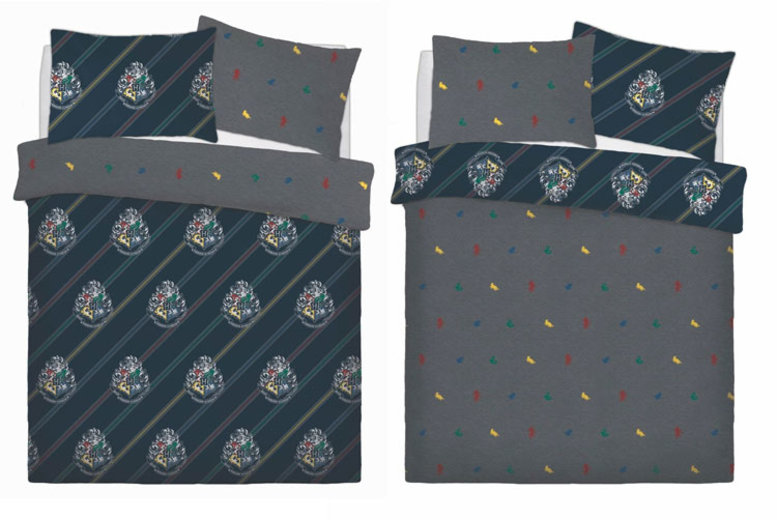 Harry Potter Reversible Duvet Set – 2 Sizes! (£13.99)