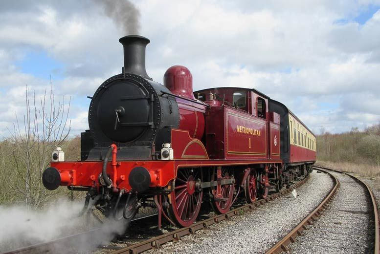 Activities: Ticket to Midland Railway, Butterley - For 2 or Family of 5!