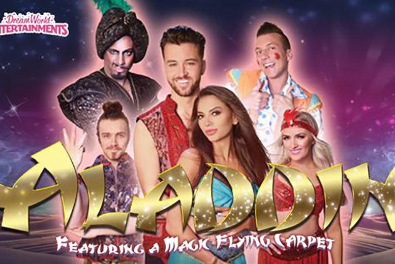 Entertainment: Tkt To Aladdin Christmas Panto @ Gladstone Theatre – 5 Dates!