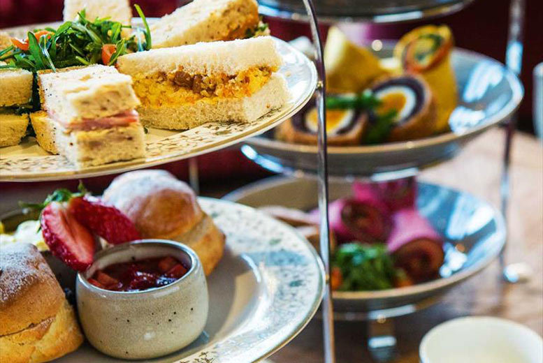 Restaurants & Bars: Choice Of Afternoon Tea For 2 @ Studley Castle Hotel, Studley