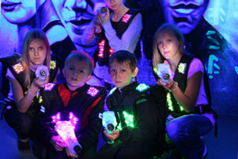 Activities: Laser Tag - Two Games for Up To 5-10 People @ Cannon Raceway