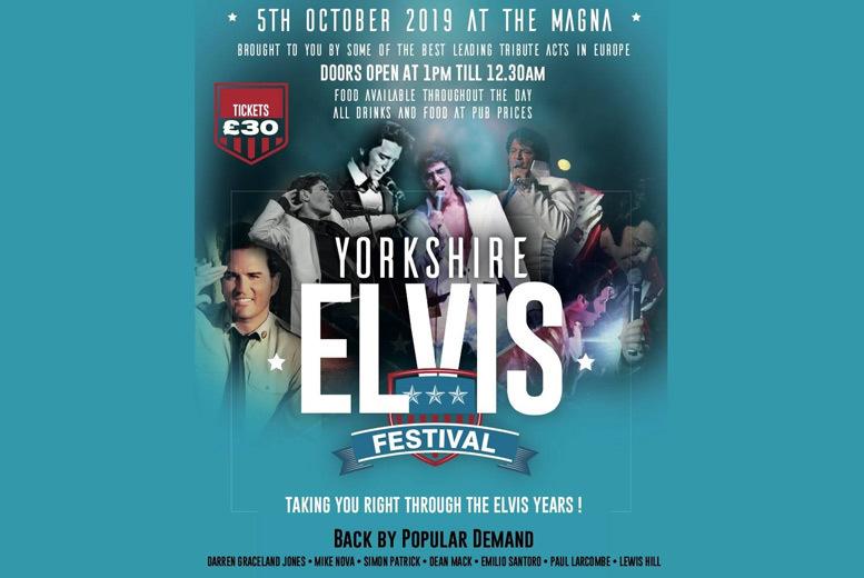 Entertainment: Yorkshire Elvis Festival Tkt @ Magna Science Adventure Centre