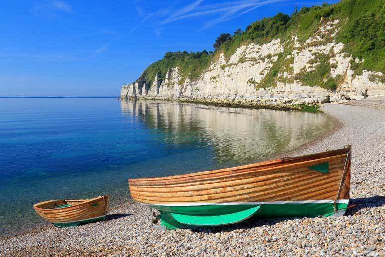 UK Seaside: Devon Getaway, 2-Course Dining, Breakfast & Leisure Access for 2