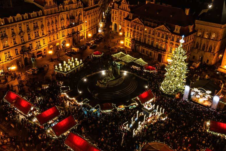 European City Breaks: European Christmas Market Getaway & Flights - 12 Destinations!