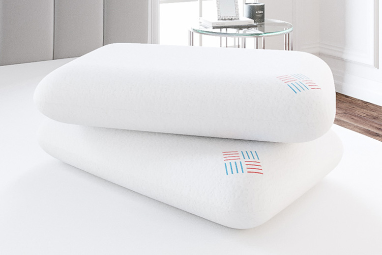 £24 (from Bliss Home Living) for one luxury bamboo memory foam pillow or two for £39 – save up to 52%