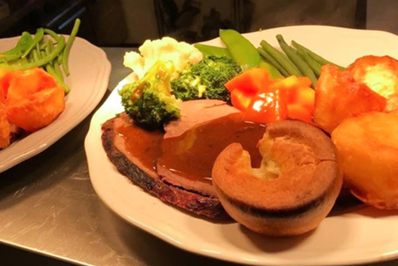 Restaurants & Bars: 2-Course Sunday Roast & Wine for 2 @ Lacey's Bistro, Codsall