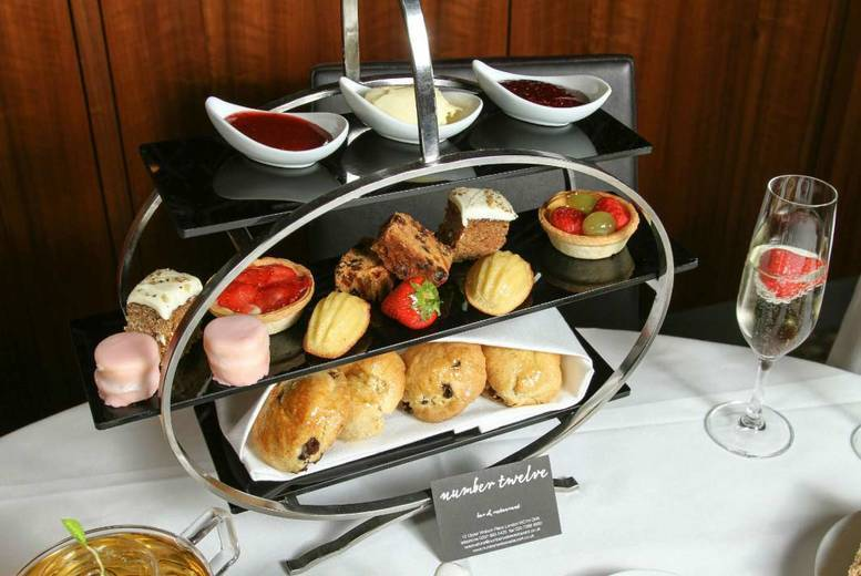 Restaurants & Bars: Afternoon Tea & 'Bottomless' Cocktails for 2, The Ambassadors Hotel